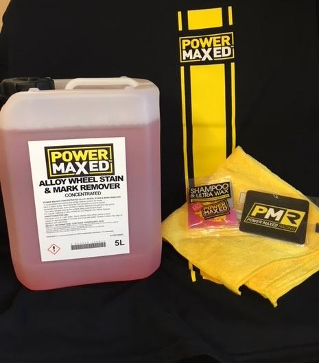 Power Maxed Alloy Wheel StainMark Remover 1 litre