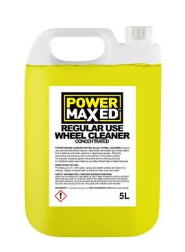 Power Maxed Non Acidic Alloy Wheel Cleaner 5 litre