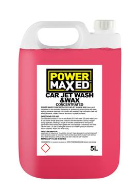 Power Maxed Jet Wash & Wax 5 Litre