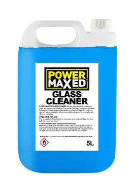 Power Maxed Window Glass Cleaner 5 litre