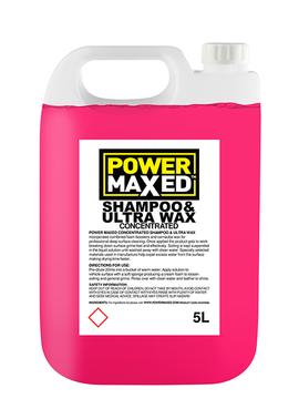 Power Maxed Shampoo & Ultra Wax 5 litre
