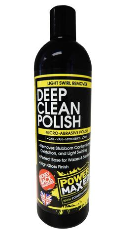 Power Maxed Deep Clean Polish 500ml