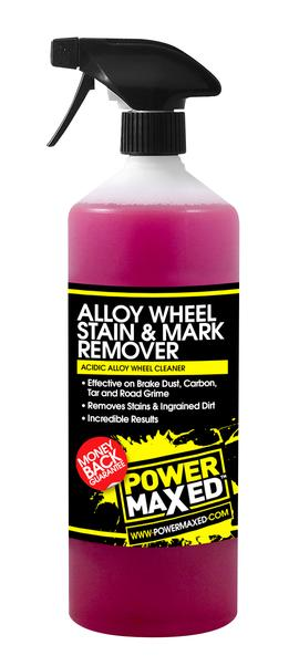 Power Maxed Alloy Wheel Stain/Mark Remover 1 litre