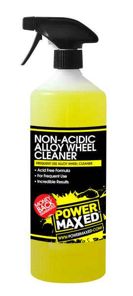 Power Maxed Non Acidic Alloy Wheel Cleaner 1 litre