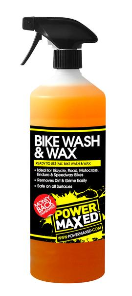 Power Maxed Bike Wash & Wax Spray 1 litre
