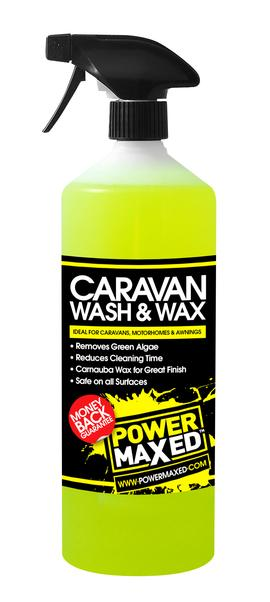 Power Maxed Caravan Wash & Wax 1 Litre