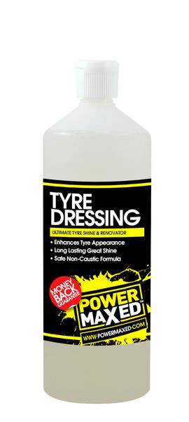 Power Maxed Tyre Dressing 1 litre.