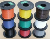 1mm core Cable solid colours