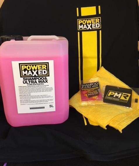Power Maxed Shampoo  Ultra Wax 1 litre